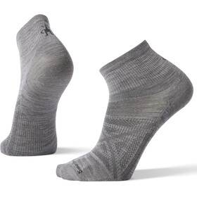 Smartwool PhD Outdoor Ultra Light Mini Socks, light gray